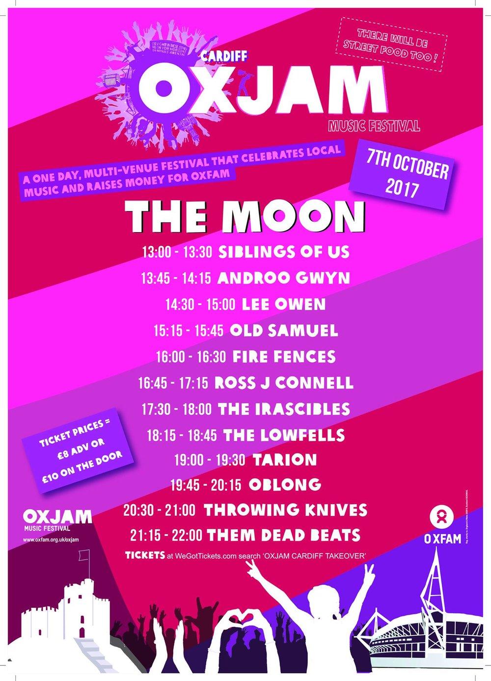 Oxjam Festival 2017