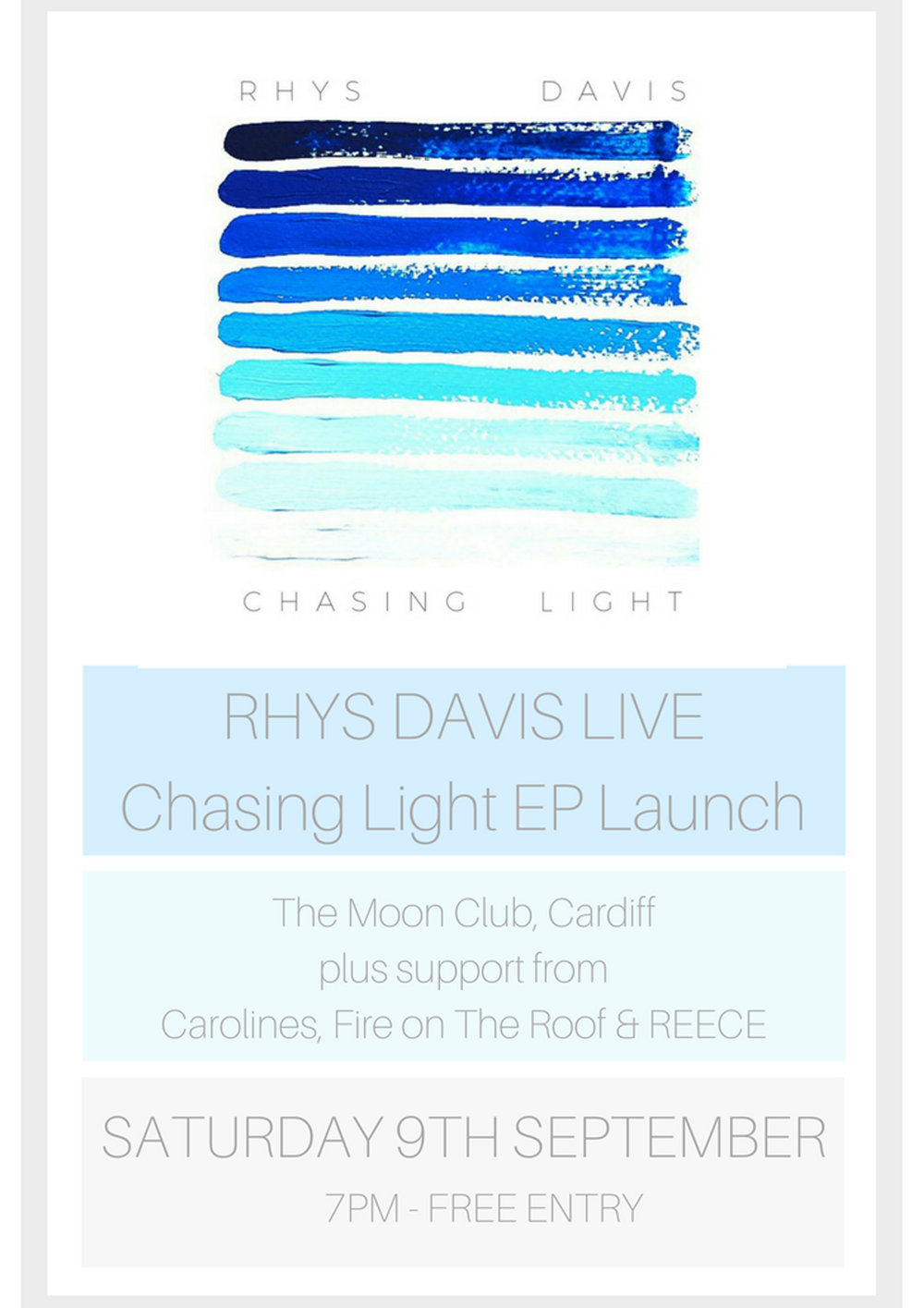 Rhys Davis Launch