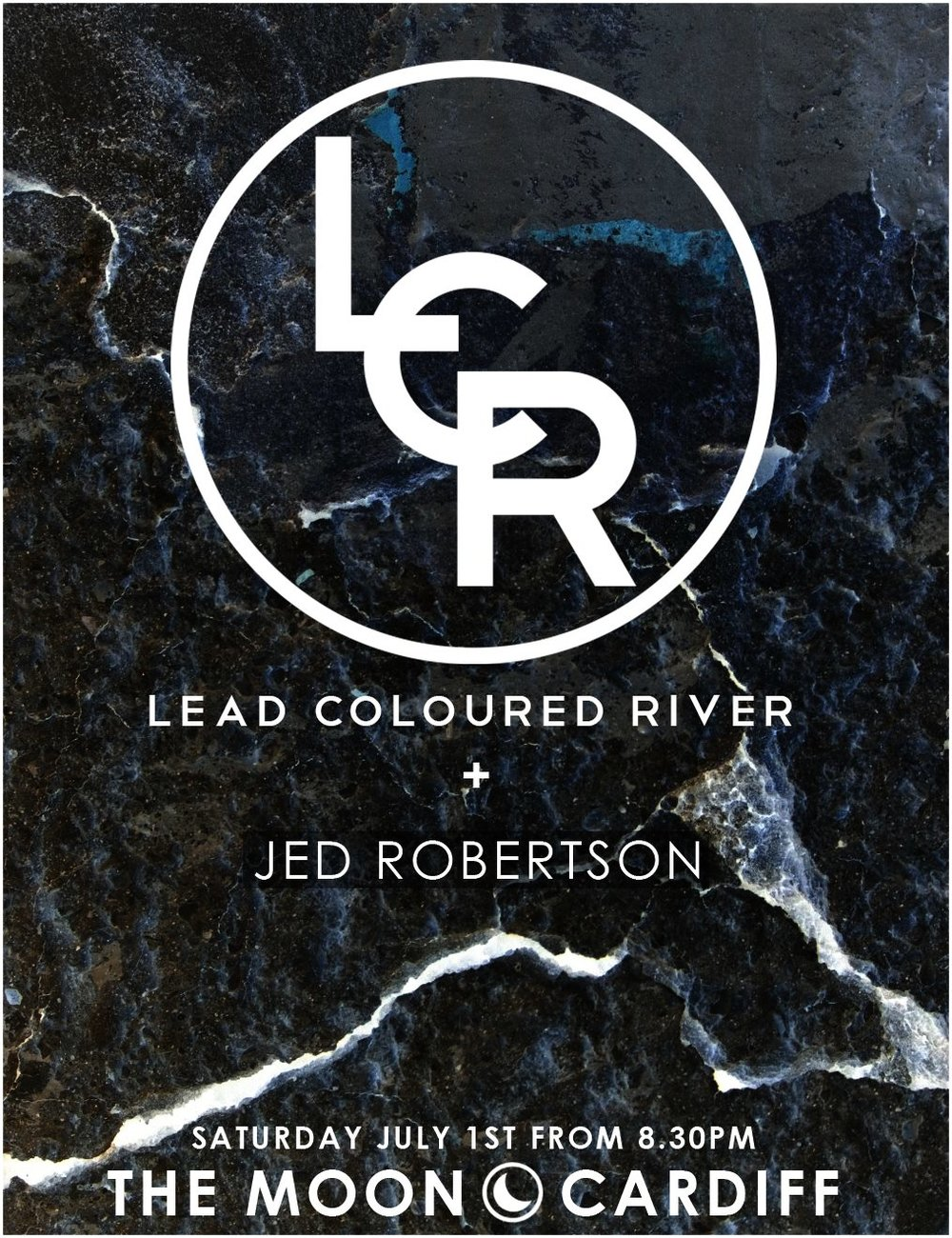 Lead Coloured River