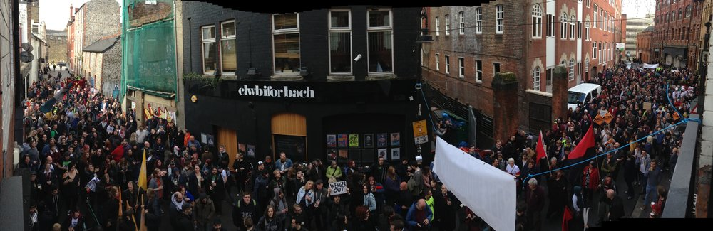 Save Womanby Street march
