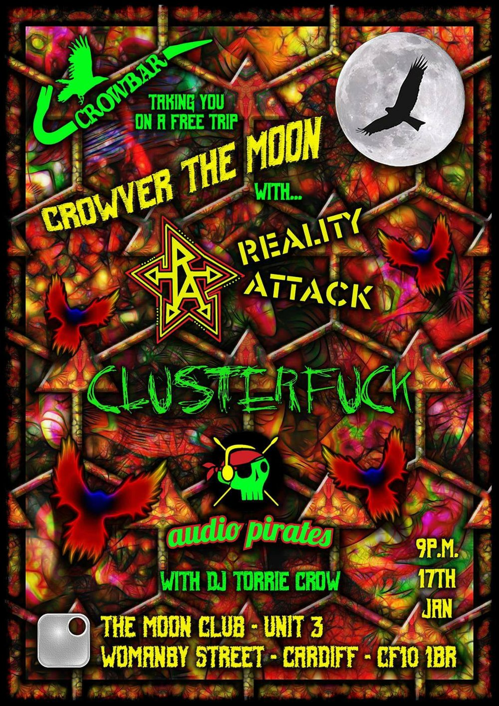 Crowver The Moon - Clusterf*ck - Free For All