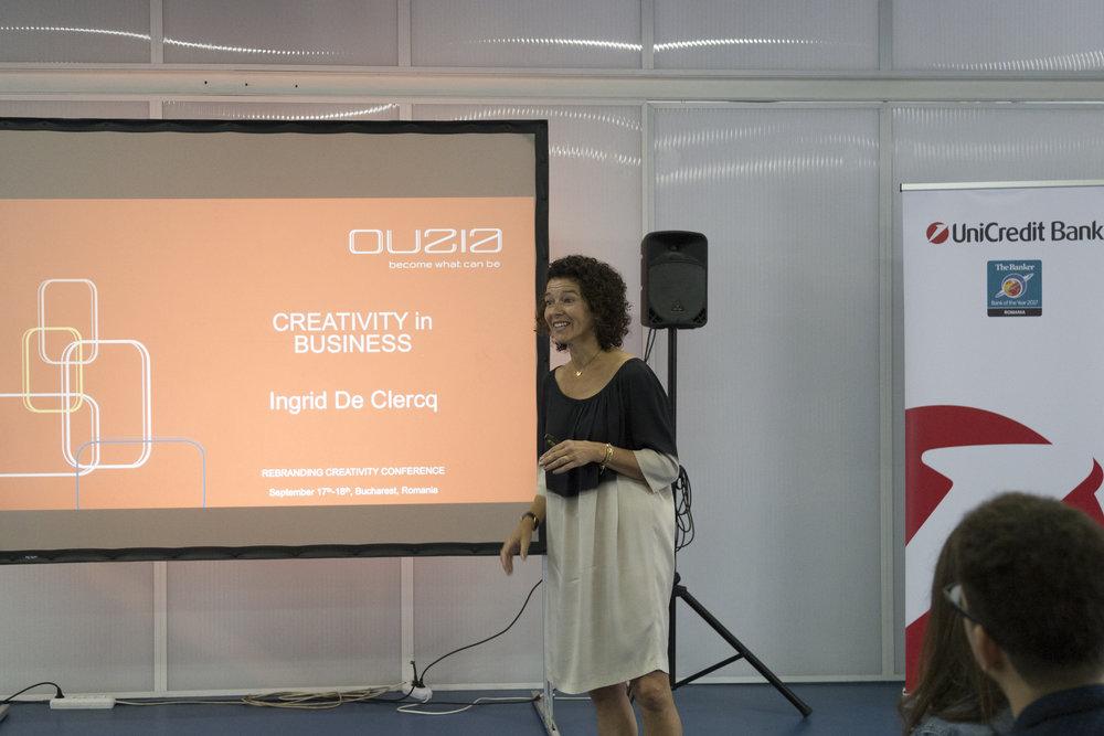 Ingrid deClerq, Business Track