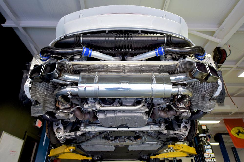 Porsche Turbo Performance upgrade package