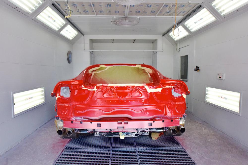 Ferrari Collision