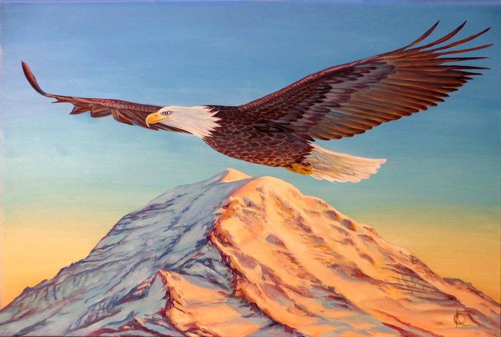 """""""Eagle & Rainier"""""""