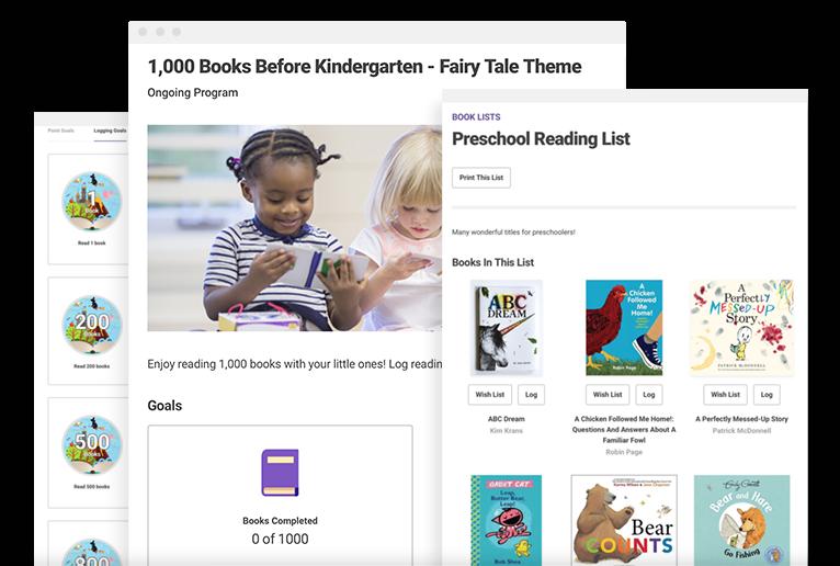 1,000 Books Before Kindergarten -
