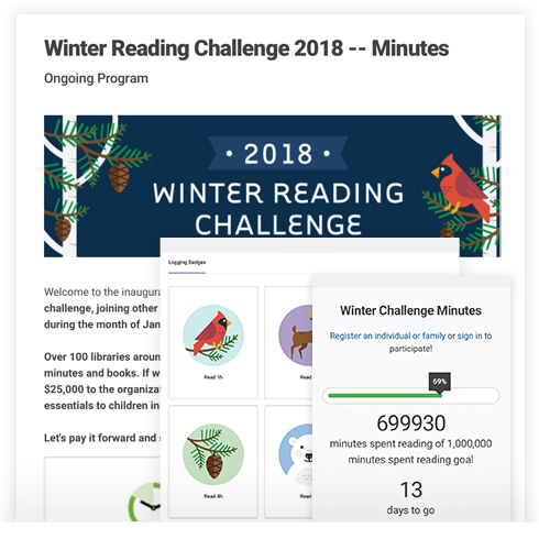 Engaging Reading Program Ideas  - Our team of educators and reading specialists regularly create reading program templates that can be copied and customized to match with lesson plans and library programs.
