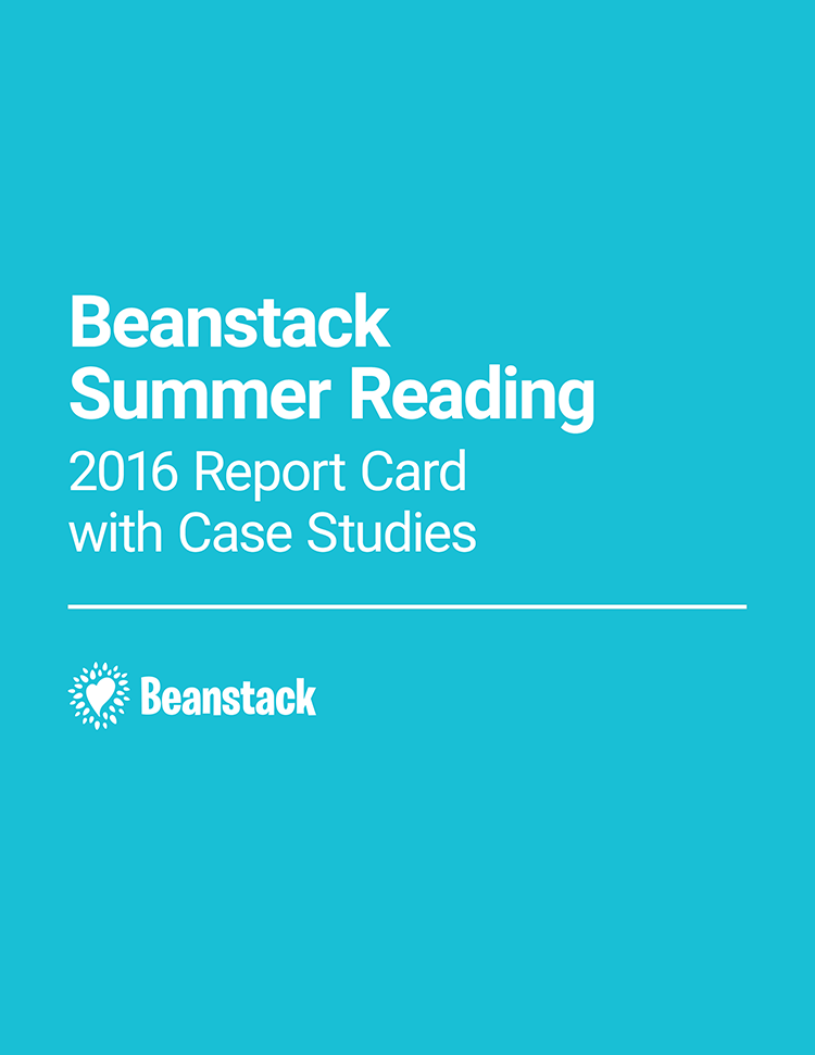 Beanstack Summer Reading: 2016 Report Card with Case Studies