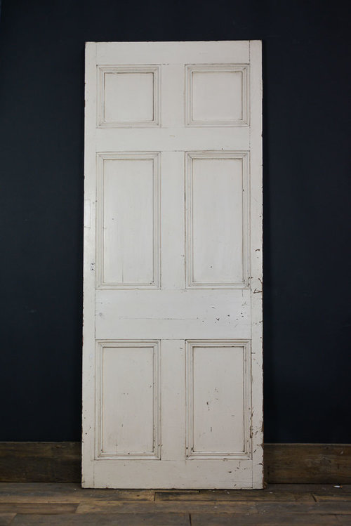 white wood door. Georgian Wood Door White