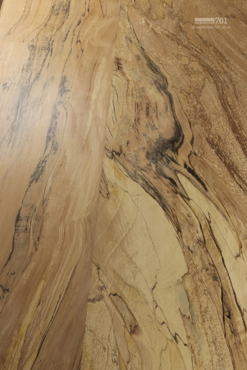 Spalted wood effect, sought after by wood-workers for its unique marbling patterns.