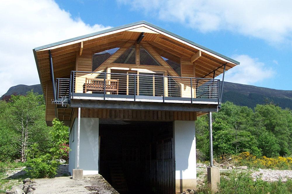 OS Lair Boathouse, Loch Dughaill