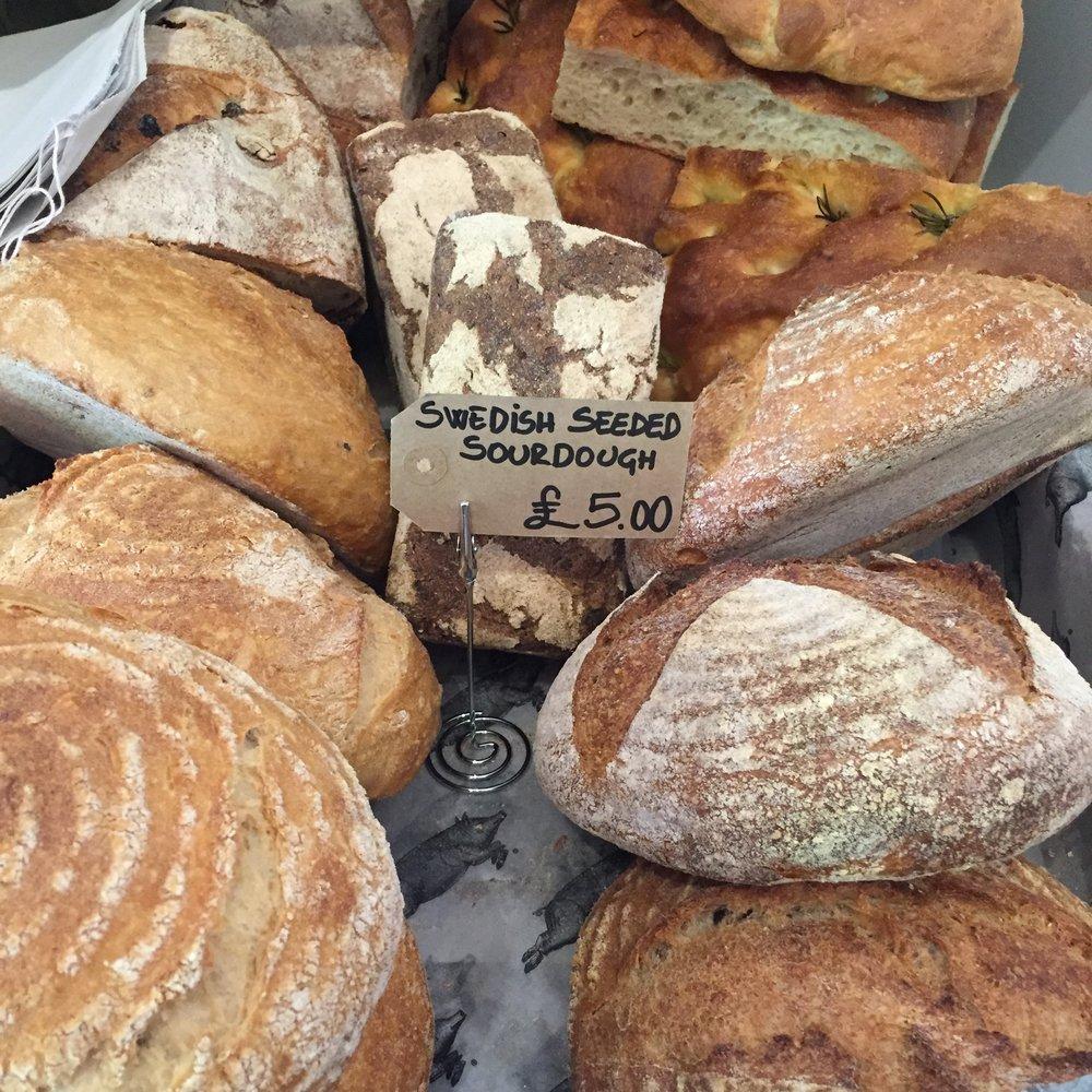 St John Bakery breads