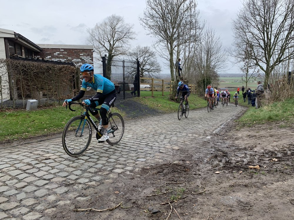The Oude Kwaremont is a great place to watch and is used by several races.