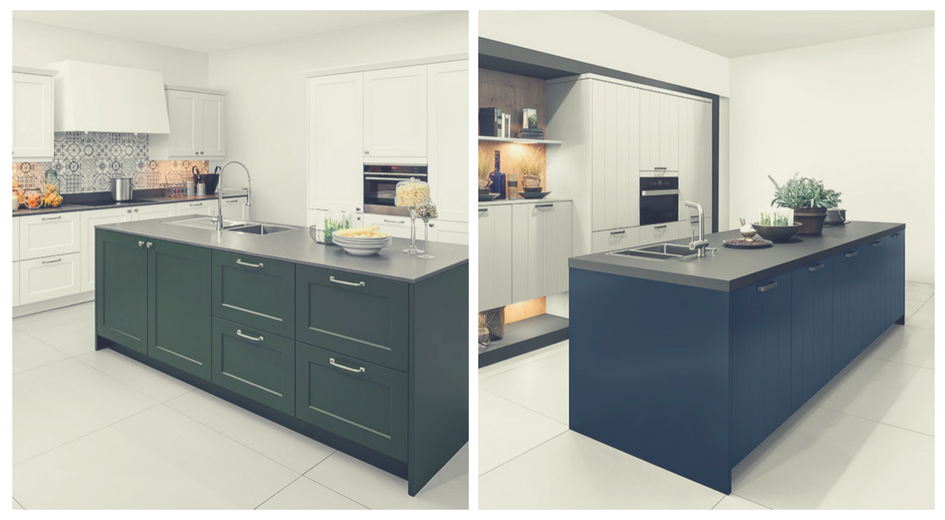 Blue or Green Kitchens