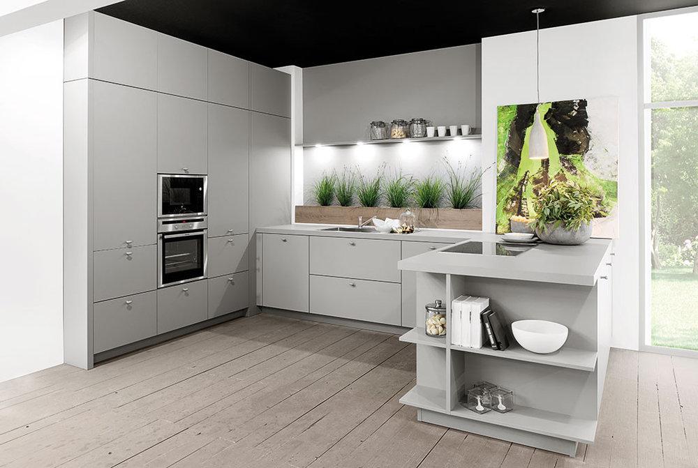 Matt_Grey_Modern_Kitchen