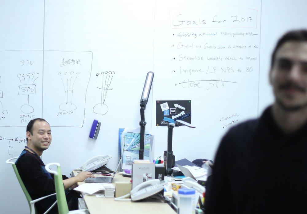500 Startups Japan 設立者の澤山陽平です。