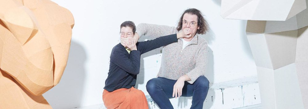 Kate Sinha and Stefan Ruitenbeek. © Erik Smits