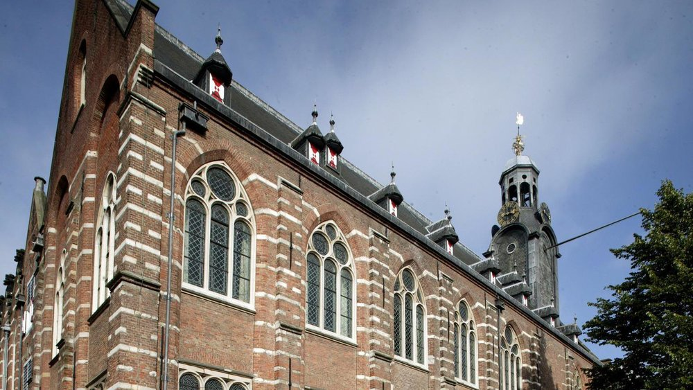 Academy building of the Leiden University. © ANP