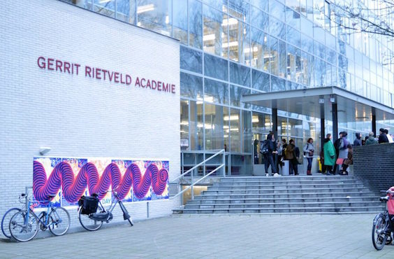 The Gerrit Rietveld Academie in Amsterdam. Photo: Gerrit Rietveld Academie.