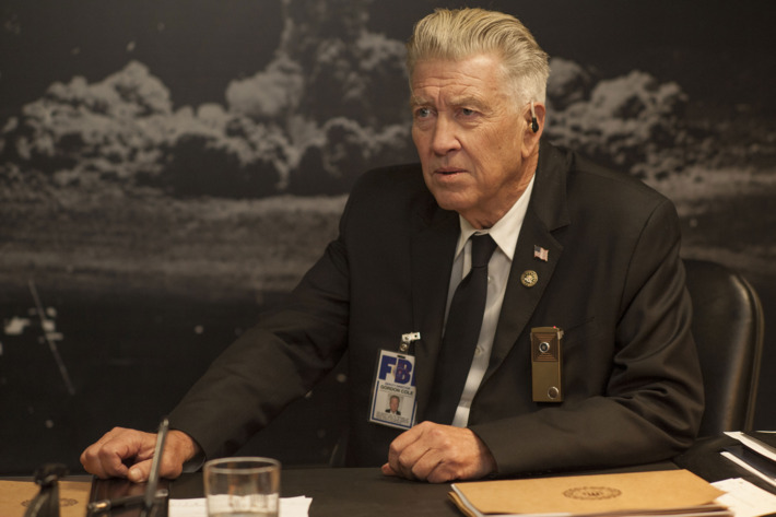 David Lynch as Gordon Cole in  Twin Peaks: The Return  - courtesy of Showtime