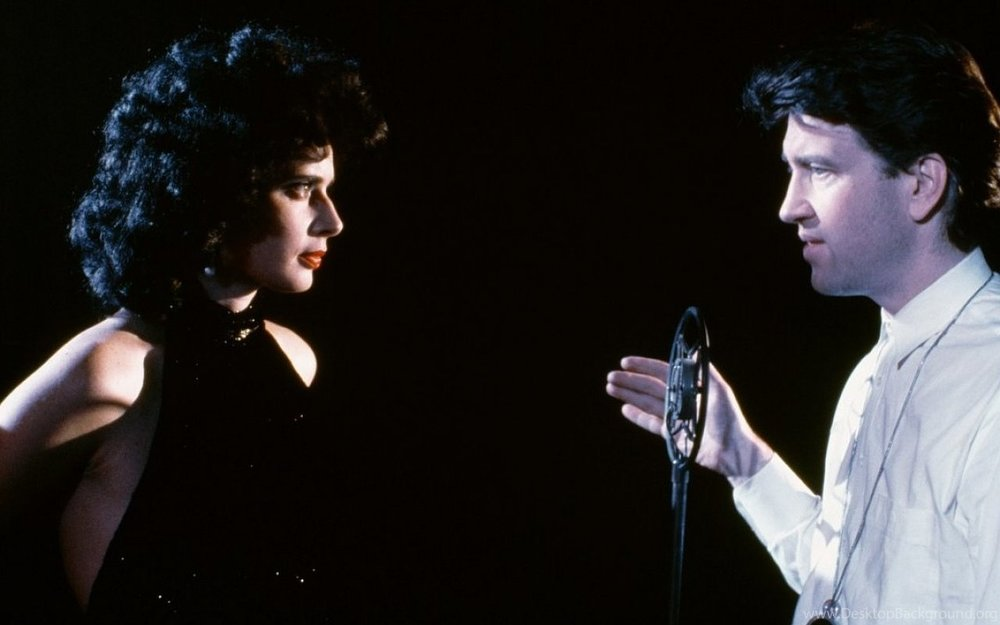 Isabella Rossellini and David Lynch, BTS  Blue Velvet  (1986)