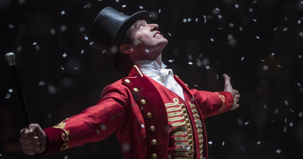 "Image Credit: Hugh Jackman as P.T. Barnum in "" The Greatest Showman "" © 20th Century Fox Film Corporation / Photo by Niko Tavernise"
