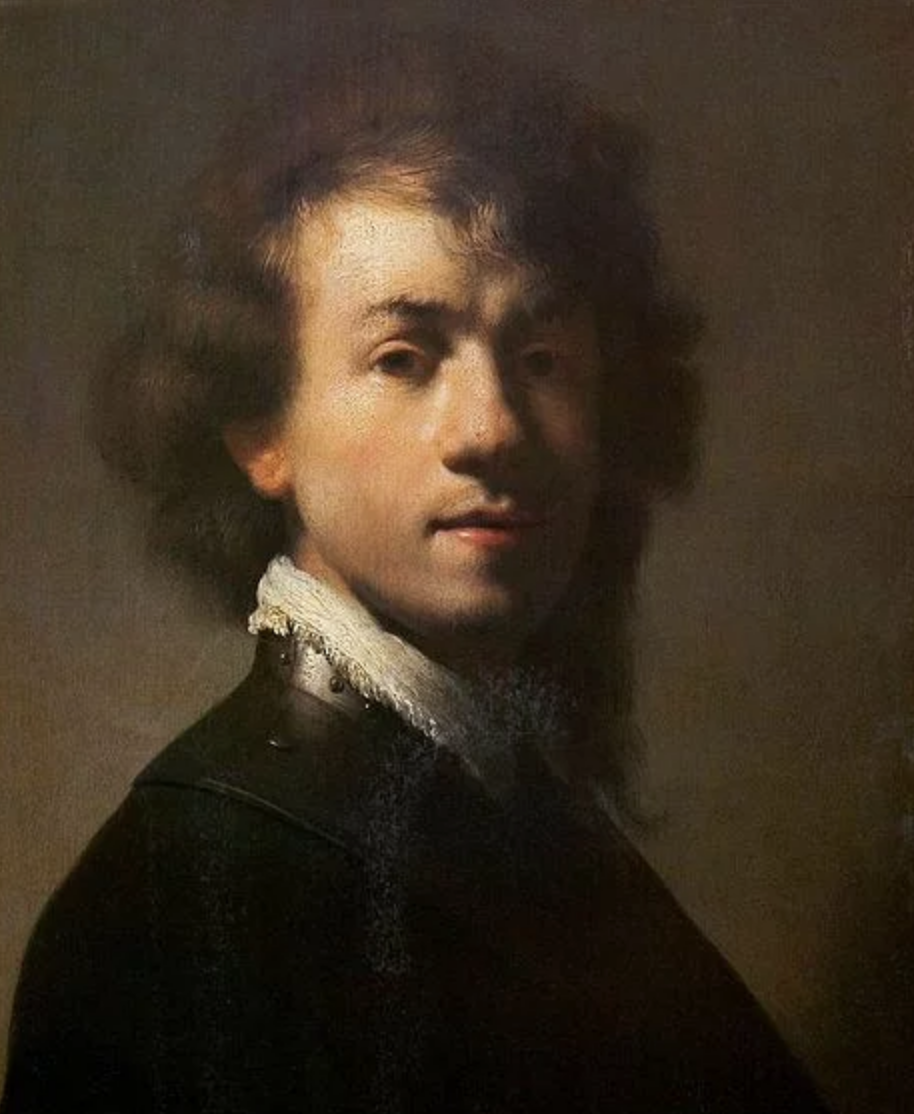 Self-portrait with Gorget