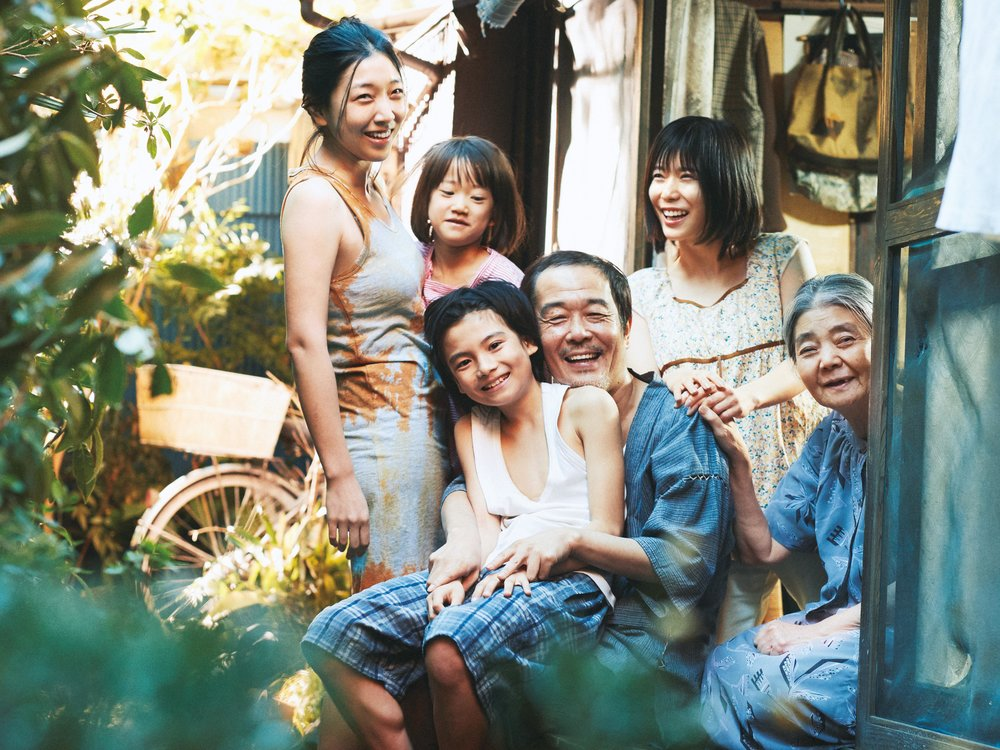 Shoplifters  Production still - Winner of the Palme d'or 2018