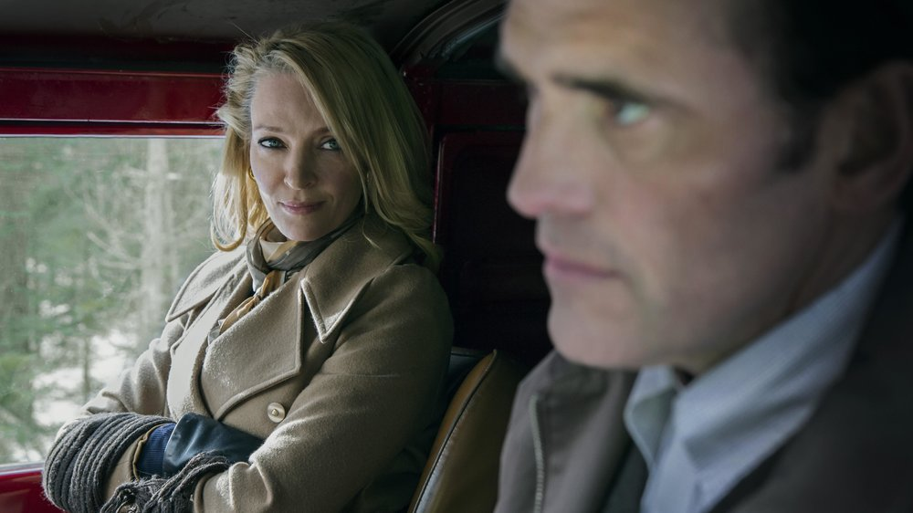 The House That Jack Built  - production still feat. Uma Thurman and Matt Dillion - courtesy of Zentropa