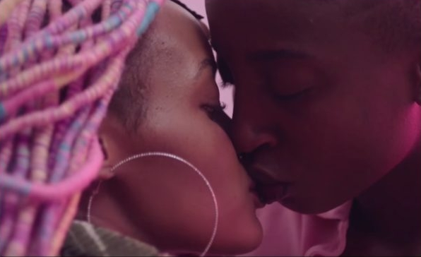 Rafiki  feat. Samantha Mugatsia and Sheila Munyiva - production still courtesy of  Big World Cinema