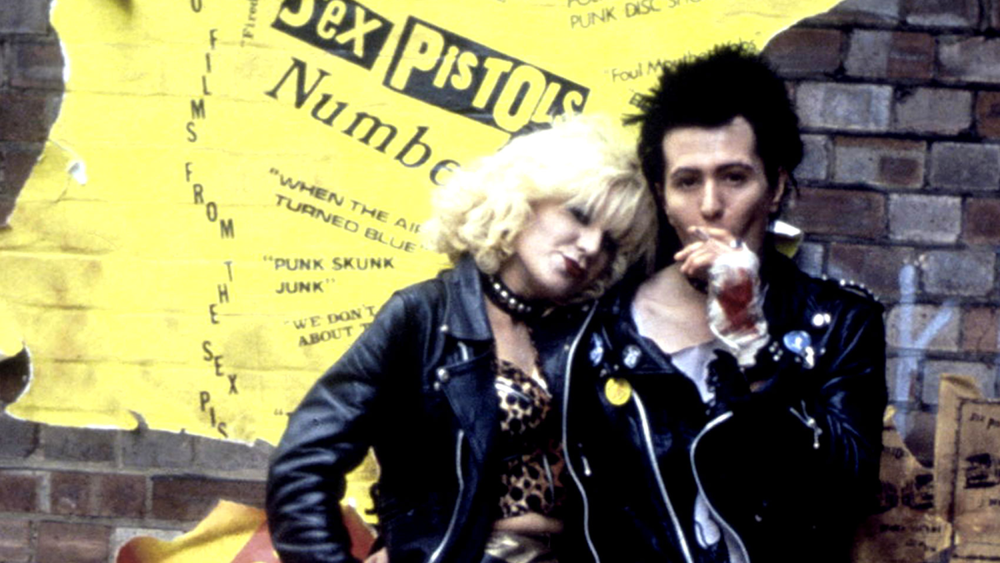Chloe Webb as Nancy Spungen and Gary Oldman as Sid Vicious in  Sid and Nancy  (1986) - courtesy of Initial Pictures