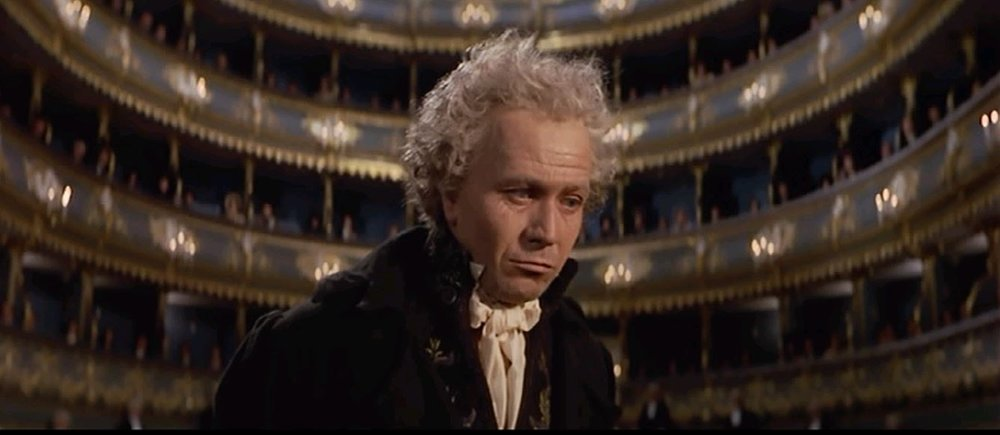 Gary Oldman as Beethoven in  Immortal Beloved  (1994) - courtesy of Columbia Pictures