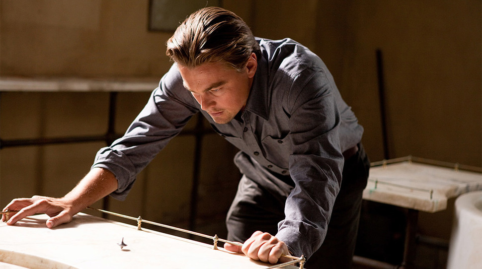 Inception  (2010) Feat. Leonardo DiCaprio as Cobb