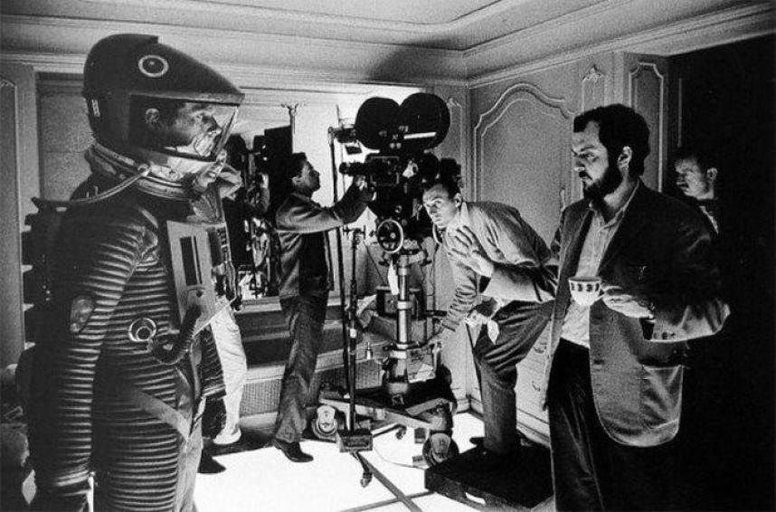 Keir Dullea as Dave Bowman directed by Stanley Kubrick in  2001: A Space Odyssey  (1968) - courtesy of Warner Bros.