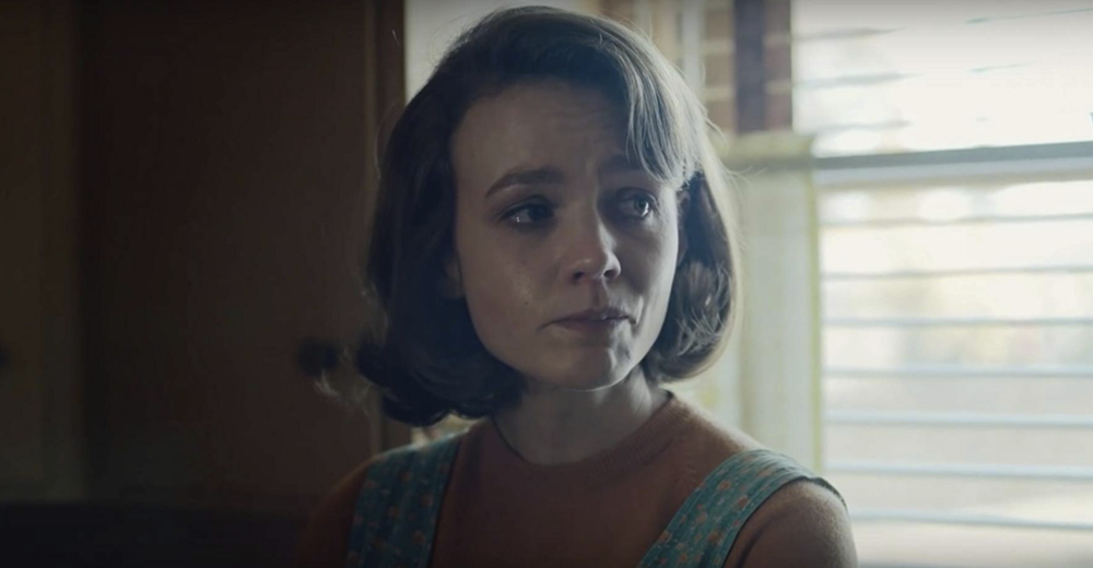 Carey Mulligan (as Jeanette Brinson) in  Wildlife  (2018) - courtesy of IFC Films