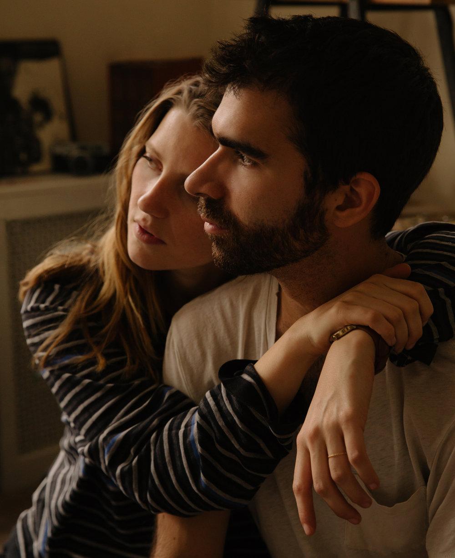 Celine Held and Logan George