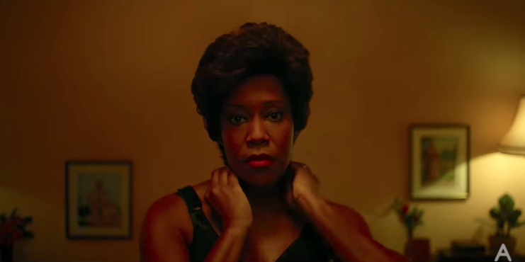 Regina King as Sharon Rivers in  If Beal Street Could Talk  (2018) - courtesy of A24