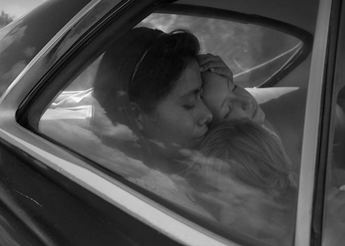Roma  (2018) feat. Yalitza Aparicio as Cleo, dir. Alfonso Cuarón - courtesy of Netflix