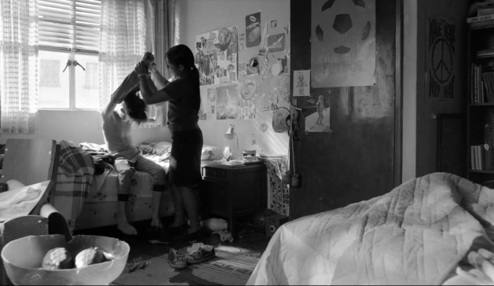 Roma  (2018) - dir. Alfonso Cuarón - courtesy of Netflix