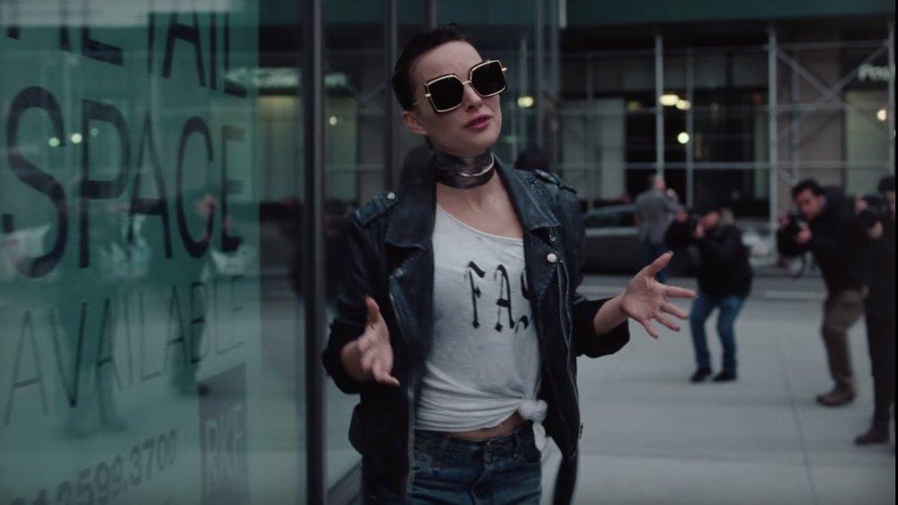 Vox Lux  (2018) dir. Brady Corbet feat. Natalie Portman as Celeste - courtesy of Neon