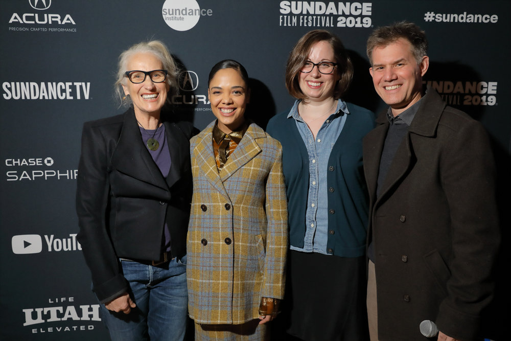 Sundance jurors Jane Campion, Tessa Thompson, Alissa Wilkinson and Senior Programmer John Nein © 2019 Sundance Institute | photo by Dan Campbell - Courtesy of the Sundance Institute