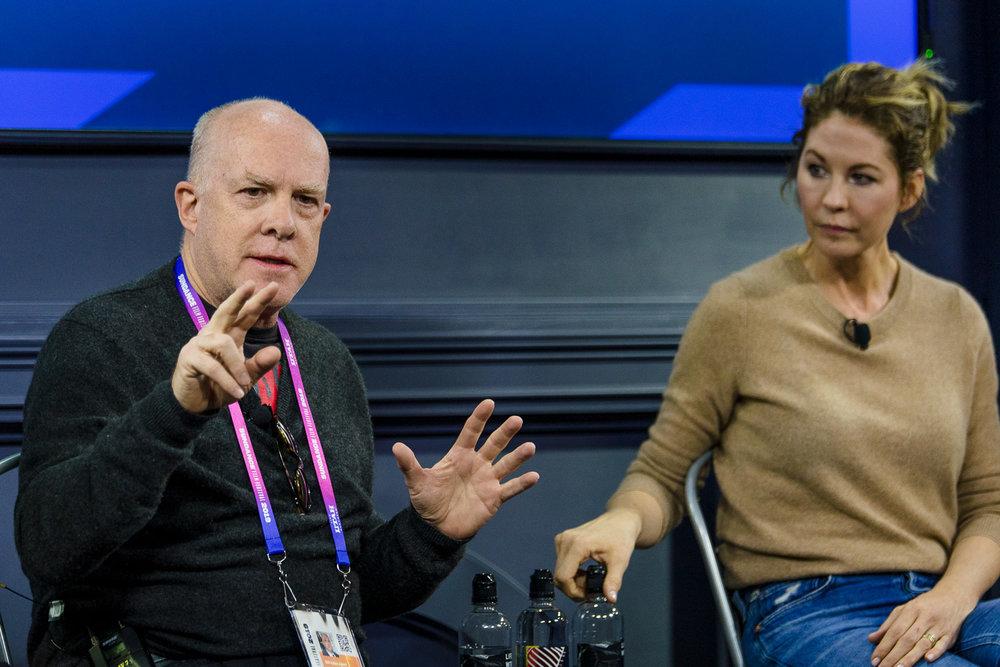 Cassian Elwes and Jenna Elfman - Courtesy of SundanceTV
