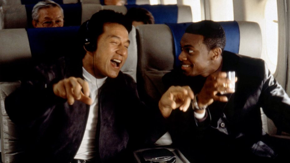Rush Hour  feat. Jackie Chan and Chris Tucker - Courtesy of New Line Cinema