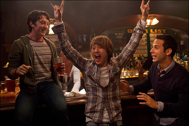 Justin Chon as Jeff Chang in  21 & Over  - Mandeville Films