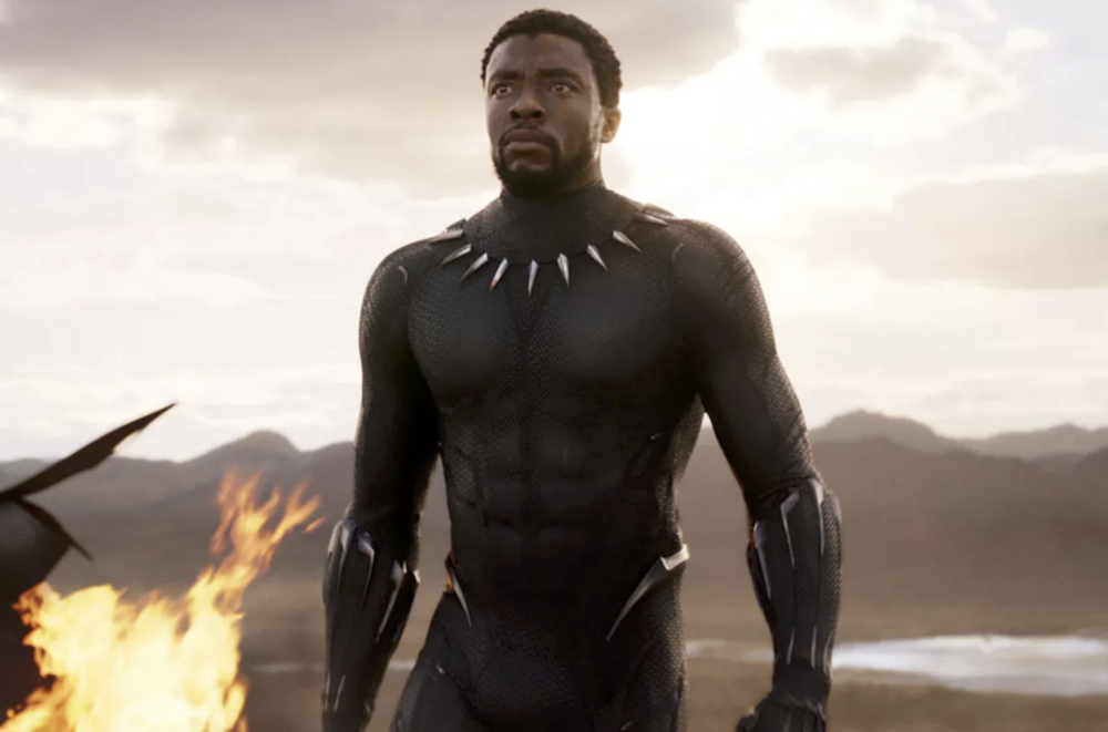 Chadwick Boseman in  Black Panther  (2018) - Marvel Entertainment