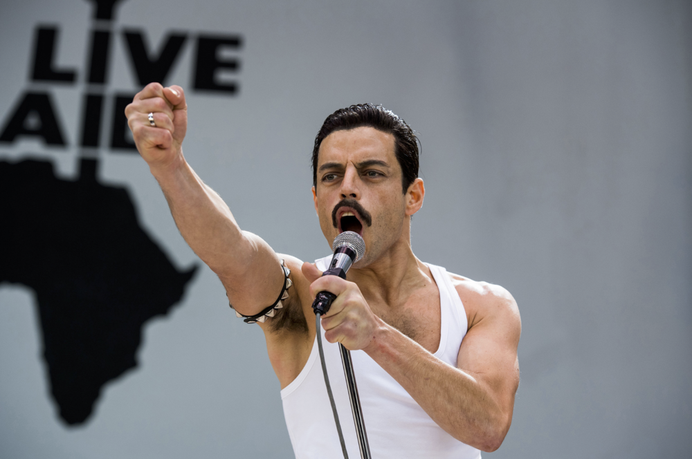 Rami Malek in  Bohemian Rhapsody  (2018) - 20th Century Fox Searchlight/New Regency