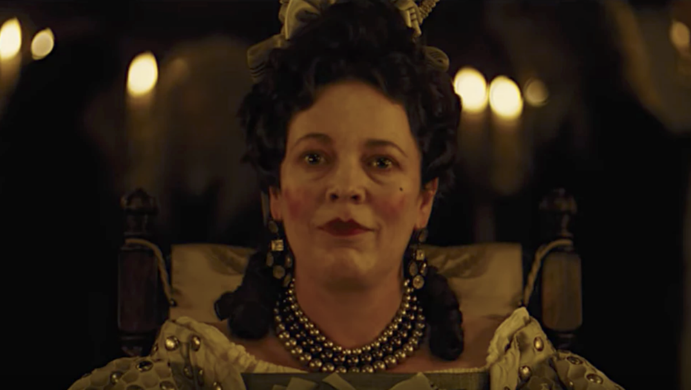 Olivia Coleman in  The Favourite  (2018) - Fox Searchlight