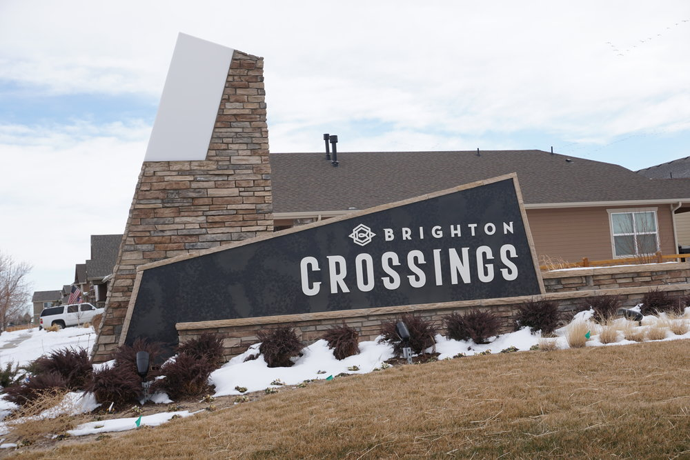 Brighton Crossings -  New Build Community.  Buyer Representation available.  Call/text 303-968-6999 for a tour, floor plans and pricing.