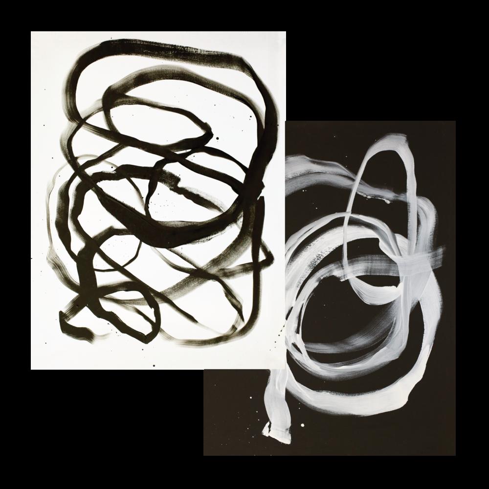 Knots I & II — $15 each