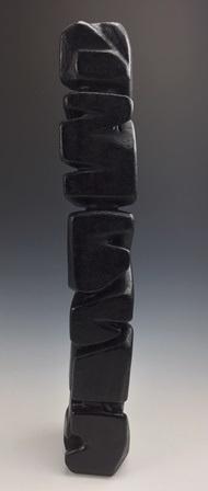"Scott DeHart  Sculpture, 25.5"" x 4"" x 4""  Retail Value: $300"